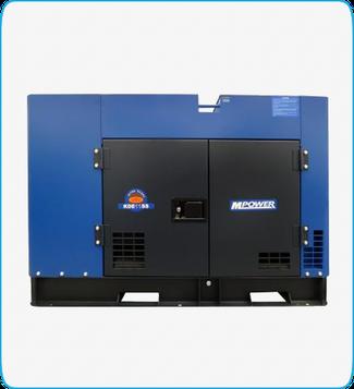 Generador Eléctrico Diesel KDE11SS Mpower