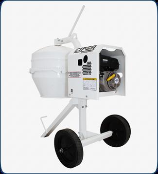 Revolvedora para concreto medio saco Cipsa Mini Maxi Mpower 5.5 HP