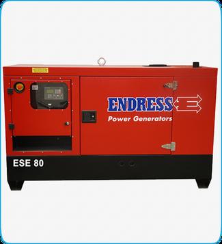Generador Eléctrico Diesel ESE 80 ENDRESS