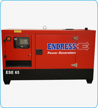 Generador Eléctrico Diesel ESE 65 ENDRESS