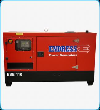 Generador Eléctrico Diesel ESE 110 ENDRESS