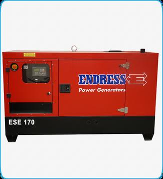 Generador Eléctrico Diesel ESE 170 ENDRESS