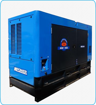 Generador Eléctrico Diesel KDE75SS3 Mpower