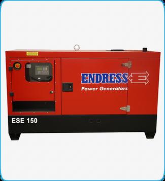 Generador Eléctrico Diesel ESE 150 ENDRESS