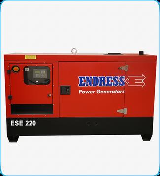 Generador Eléctrico Diesel ESE 220 ENDRESS