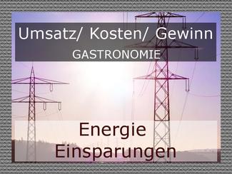 Energie sparen in der Gastronomie
