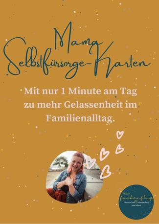 fräulein funkenflug Kostenlose Mama Selbstfürsorge Karten