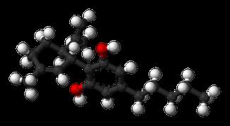 Molecule of the Cannabidiol - C21H30O2