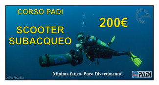 corso scooter subacqueo offerta sharm