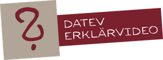 Fragezeichen-Icon als Link zum DATEV Erklärvideo