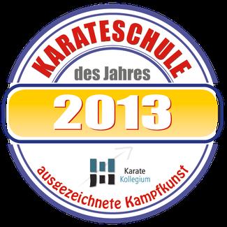 Die Karate Schule Gruenwald wird Karate Schule des Jahres 2013