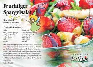 Rezept zum fruchtigen Spargelsalat | Spargelhof Bolhuis