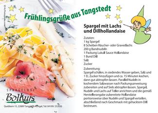 Rezept zu Spargel mit Lach und Dillhollandaise | Spargelhof Bolhuis