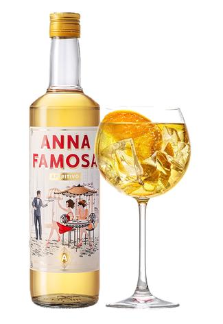 ANNA FAMOSA APERITIVO, cocktail, long drink aperitif,  rosen, pfirsich, spritz, lillet, Aperol spritz