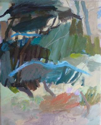 Mille pinie 2010 100 x 80 cm Öl / Leinwand