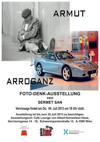 Galerie Time Albert Schweitzer Haus Foto Denk Austellung Sermet San
