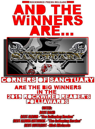 Corners of Sanctuary,  Video,  New Single, Rockers And Other Animals, Rock News, Rock Magazine, Rock Webzine