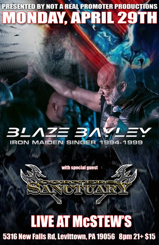 Corners of Sanctuary,  Video,  New Single, Blaze Bayley, Iron Maiden,  Rockers And Other Animals, Rock News, Rock Magazine, Rock Webzine