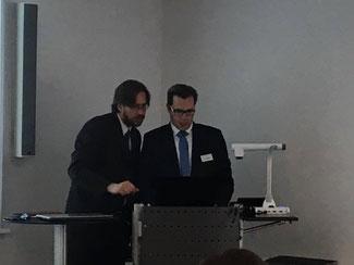 RA Jens Gmerek & Björn Bauch, Leiter der IT-Forensik der Carmao GmbH