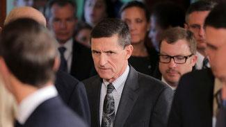 Der ehemalige Sicherheitsberater Michael Flynn hat während des Wahlkampfes Lobbyarbeit betrieben. © Carlos Barria