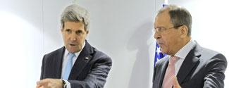 Außenminister US und Russland