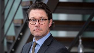 Der CSU-Generalsekretär Andreas Scheuer © Sven Hoppe/dpa