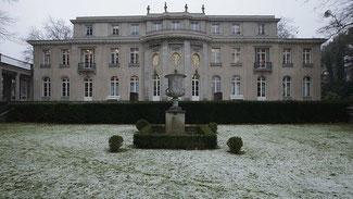 Villa Marlier, in der sich 15 hohe Beamte, Staatssekretäre und SS-Funktionäre am 20. Januar 1942 für die Wannsee-Konferenz trafen. © Sean Gallup/Getty Images