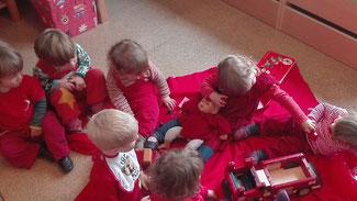 Farbentage in der Kleinen Panik: rot