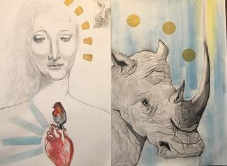 """""""Miei Cari Estinti"""", illustrazione di Veronica D'Onofrio"""