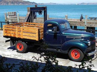 Alter Chevy auf Alcatraz