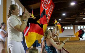 Die deutsche Fanbase (Copyright by Tara Gottmann)