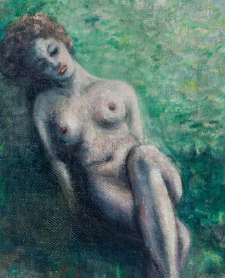 Female reclining nude por Anthony Robert Klitz (Tony pa' los cuates)
