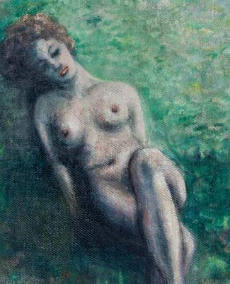 Female reclining nude por Anthony Robert Klitz (Tony pa' los cuates)