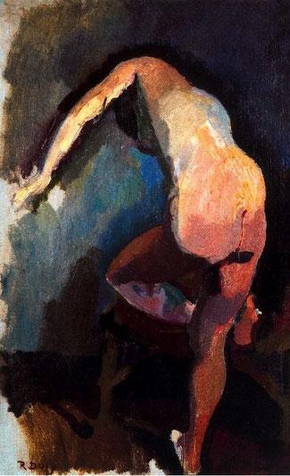 Derrière de una tal Claudine, por Raoulito (1906)