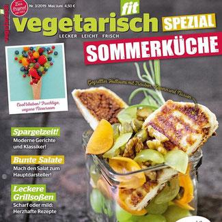 Spargelzeit in Vegetarisch fit, Nr. 3/2019  Mai/Juni, Seite 20 - 24, Moderne Gerichte und Klassiker