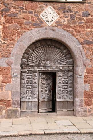 Tür in Exeter