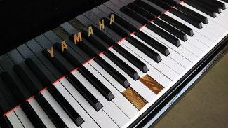 ピアノ 鍵盤はがれ修理 張替え