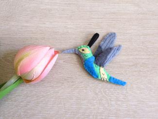 Décoration oiseaux fait main