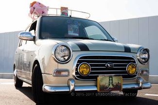ダイハツ ミラジーノの痛車