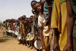 Fame e malnutrizione in Africa