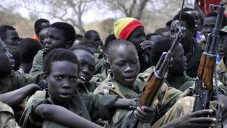 Bambini soldato in Sud Sudan