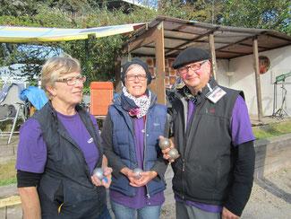 2014 konnten sich Hilda Oppermann, Burga Schumacher und Michel Schille-Schumacher bei der LM Veteran Nds als 6 Platz für die DM Veteran in Mühlheim a. d. Ruhr qualifizieren.