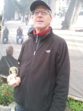 Frank Schomburg Tete Vereinsmeister SSV Alfeld 2015