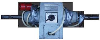 Polierbock mit 2 Drehzahlenmotor Dahlandermotor 2/4 polig