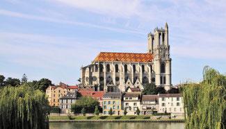 Collégiale Notre-Dame de Mantes-la-Jolie - Yvelines (78).