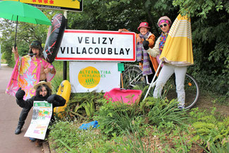Vélizy, ville étape du pré-tour Alternatiba.