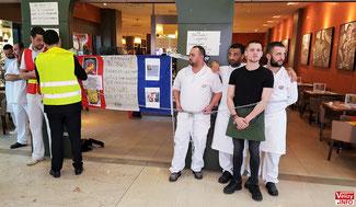 Les salariés Del Arte de Vélizy 2 s'enchaînent à la pizzeria.