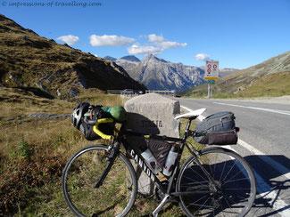 Reisen mit dem Rennrad