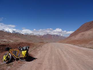 Reiserad in Tadschikistan