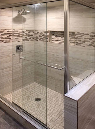 Get Glass Shower Doors Panels Tile Lines